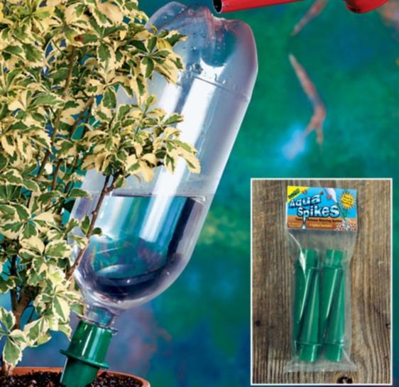 Капельный полив сделанный своими руками из пластиковых бутылок