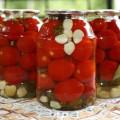без стерилизации томаты