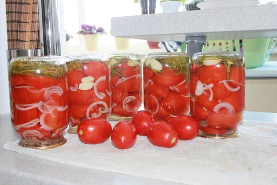 консервированные сладкие помидоры на зиму рецепты