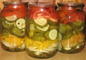Salat_iz_ogurccov_i_pomidor
