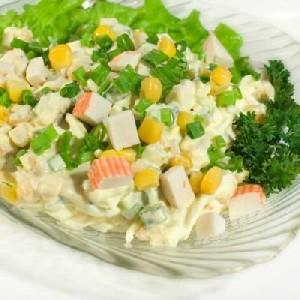 крабовый-салат-с-кукурузой