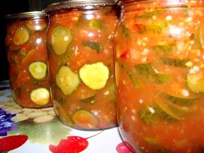 консервация салаты огурцов