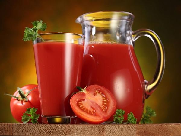Как сделать литр томатного сока 666