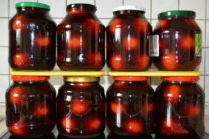 Консервированные помидоры в красном вине — необычная заготовка на зиму
